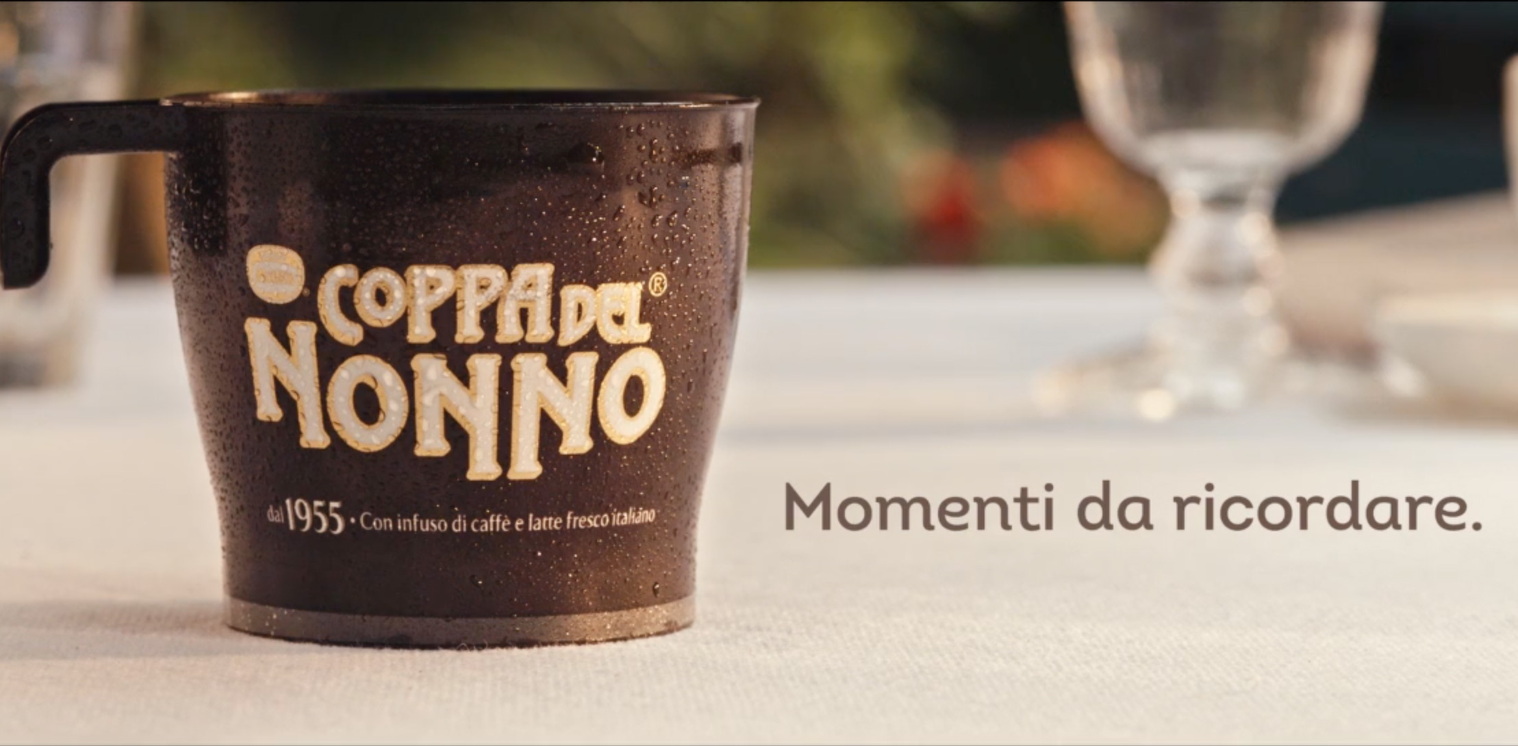 Coppa del Nonno TV Advert Freeze Frame
